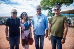 Adriano, Silvia borges, Henrique Carneiro e Rdrigo Lieberte