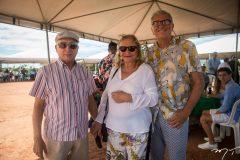 Clepto Prata, Eugenia Maia e Gerson Castelo Branco
