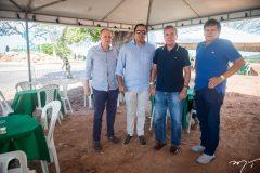 Francisco Caminha, Leonardo Cavalcante, Luis Alberto e Elson Damasceno