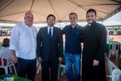 Luciano Cavalcante, Ricardo Regis, Luiz Alberto e Washington Vieira