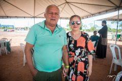 Luiz Carlos e Claudia Cardoso