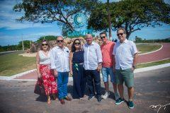 Maisa, Ernane Napoleao, Denise, Luciano Cavalcante, Cesar e Luiz Fiuza