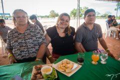 Vera Lucia, Marilene Gaspara e Raimundo Nonato
