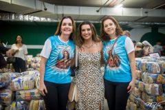 Entrega das cestas básicas do Anjos do Natal 2019