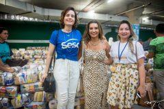 Lorena Wendt, Márcia Travessoni e Edilma Melo