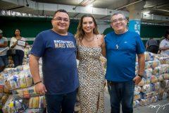 Pe. Edcarlos, Márcia Travessoni e Paulo Roberto