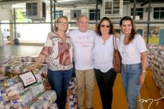 Celia Almeida, Padre Eugênio, Celia Almeida e Marcia Travessoni