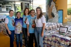 Lina Mendonça, Najla Otoch, Carol Vasconcelos, Raimundinha Moura e Márcia Travessoni