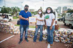 Lucelio de Sousa, Márcia Travessoni e Ana Paula Lima