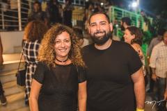 Adriana Ximenes e Luiz Victor Torres