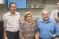 Camilo Santana, Consuelo Dias Branco e Roberto Cláudio