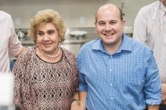 Consuelo Dias Branco e Roberto Cláudio