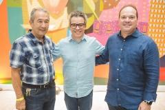 Coronel Romero, Fabiano Piúba e Cristiano Fontenele