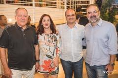 Crica Bezerra de Menezes, Cristina Luz, Daniel Fiúza e Bosco Couto