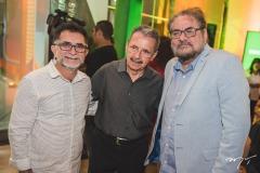 Eliseu Gomes, Egídio Serpa e Paulo Linhares