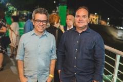 Fabiano Piúba e Cristiano Fontenele