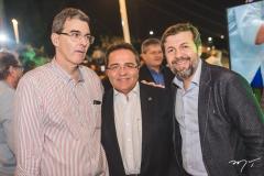 Geraldo Luciano, Romildo Rolim e Élcio Batista