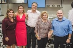 Gisela Vieira, Onélia e Camilo Santana, Consuelo Dias Branco e Roberto Cláudio