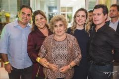 Hebert e Gisela Vieira, Consuelo, Suyane e Cláudio Dias Branco
