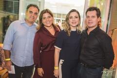 Hebert e Gisela Vieira, Suyane e Cláudio Dias Branco