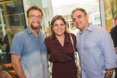 Léo Gondim, Gisela e Hebert Vieira
