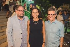 Paulo Linhares, Izolda Cela e Fabiano Piúba