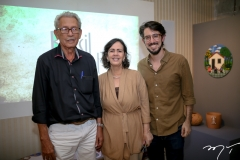 Espedito Seleiro, Neuma Figueiredo e Diego Pascual