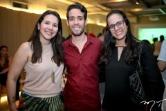 Liana Santana, Pedro Paulo Rolim e Luara Ciarlini