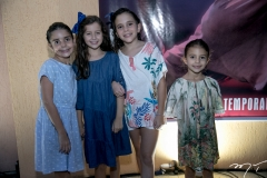 Isabela Bizarria, Taís Rolim, Indiara Machado e Elena Rolim Barros Leal
