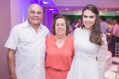 Anchieta Bezerra, Jonila Bezerra e Rebeca Sousa