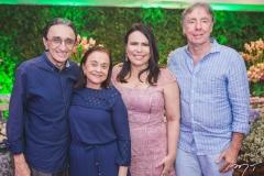 Irineu Costa, Wedja Costa, Andrea Rios e Alexandre Montenegro