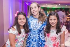 Maria Eduarda, Silviane e Maria Ester Oliveira