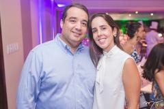 Petrônio e Andréa Barreto