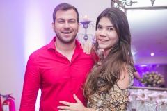 Sérgio Sousa e Vitória Alencar