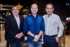 Albino Oliveira, Heitor Freire e Jaziel Pereira