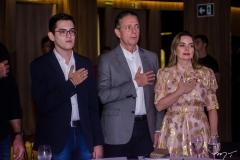 Carmelo Neto, Afrânio e Daniela Barreira