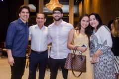 Diego Leitão, Jaziel Pereira, João Gabriel, Mariana Vasconcelos e Silvana Oliveira