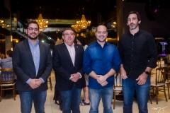 Leonardo Freire, Albino Oliveira, Heitor Freire e Lucas Fiuza