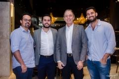 Neno Sampaio, Rodrigo Nobre, Afrânio Barreira e Caio Oliveira