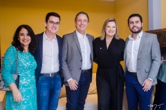 Raquel Gerde, Carmelo Neto, Afrânio Barreira, Joice Hasselmann e Rodrigo Nóbrega