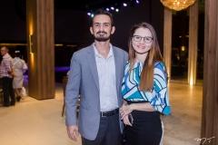 Ricardo Ruas e Juliana Oliveira