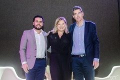 Rodrigo Nóbrega, Joice Hasselmann e Geraldo Luciano