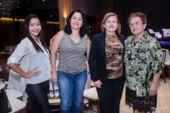 Rosiane de Sousa, Lia Nascimento, Eveline Benevides e Isaura Soares