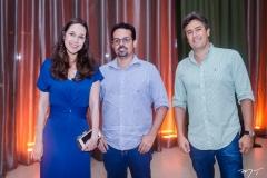 Tatiana Russo, Neno Sampaio e Fernando Curado