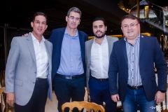 Tom Prado, Geraldo Luciano, Rodrigo Nóbrega e Marcelo Marinho