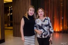 Vânia Queiroz e Gorete  Pereira