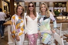 Lilian Baptistella, Deborah Bueno e Regina Giacomelli