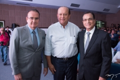 Chiquinho Feitosa, Rafael Leal e Beto Studart