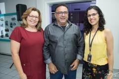 Cristina Gonçalves, Auricélio Venâncio e Kalinka Macedo