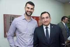 Dimas Barreira e Jardson Cruz